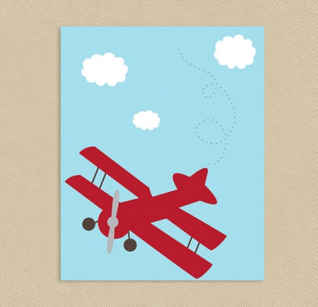 Little Aviator Wall Art
