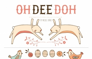 Oh Dee Doh (Clipart)