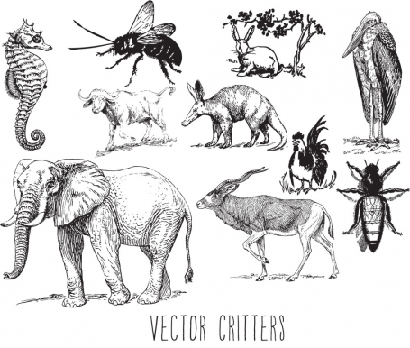 Vector Critters