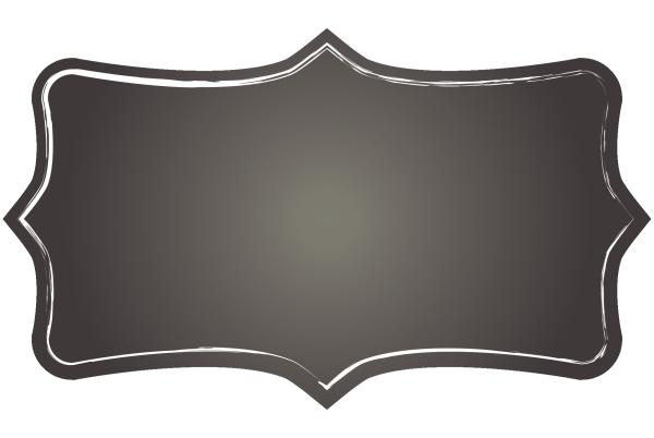 Chalkboard Luxury Label