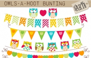 Bunting Owls A Hoot
