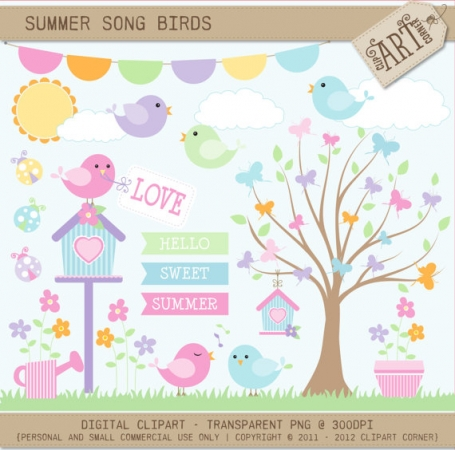 Summer Song Birds
