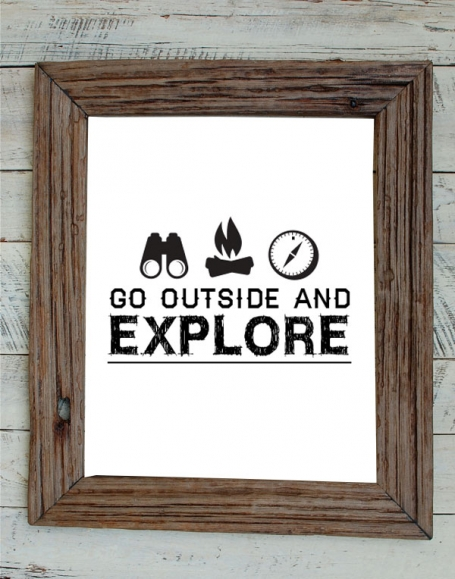 Go Outside and Explore
