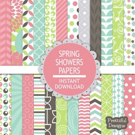 Spring Showers Clip Art