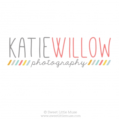 Colorful Katie Pre-Made Logo