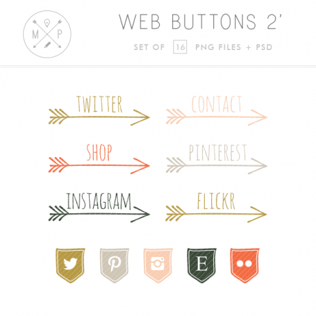 Arrow Blog Buttons
