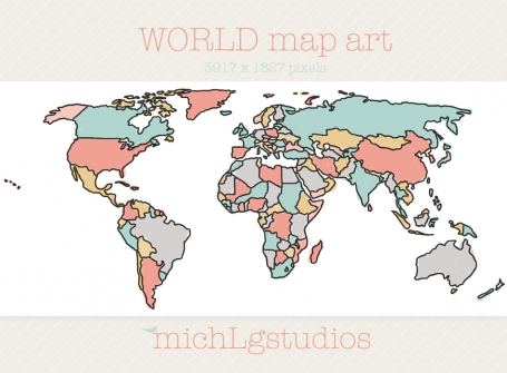 2 World Maps