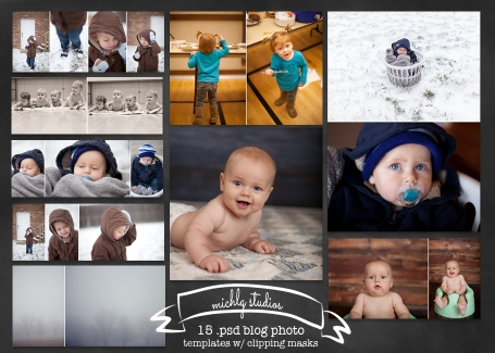 Blog Photo Collage Templates