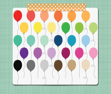 Balloon Clip Art Party Clip Art