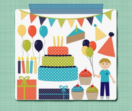 Birthday Boy Clip Art Birthday