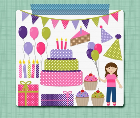 Birthday Girl Clip Art Birthday