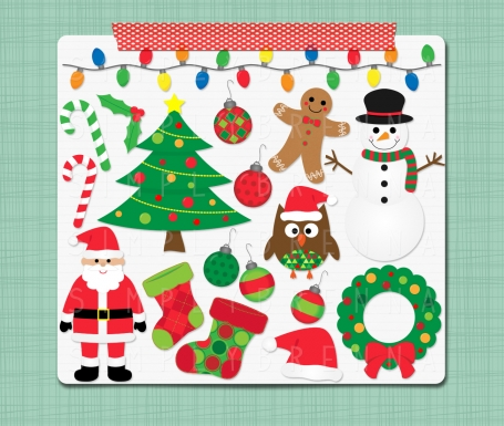 Christmas Clip Art Holiday Clipart
