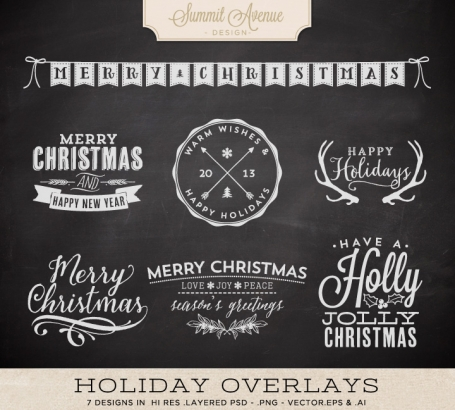 Digital Typography Holiday