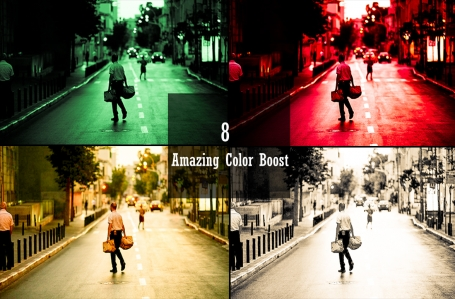 8 Premium Color Boost Lightroom
