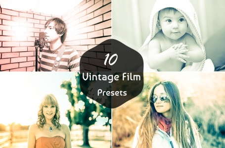 10 Vintage Film Lightroom Presets