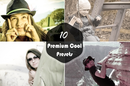 10 Premium Cool V-1 Lightroom
