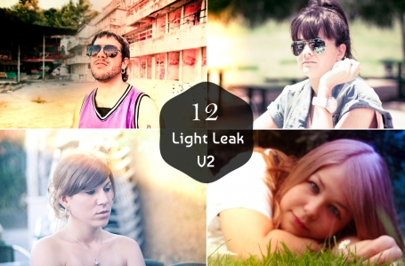 12 Premium Light Leak Presets V2