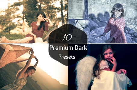 10 Dark Presets V-1 Lightroom