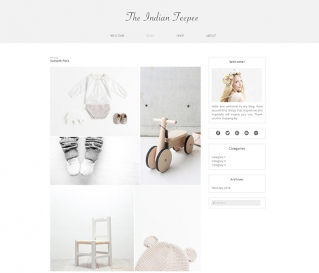 Indian Teepee - Wordpress Theme