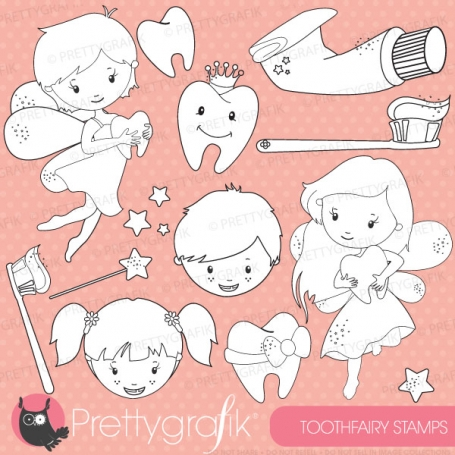 Tooth fairy stamp commercial use,