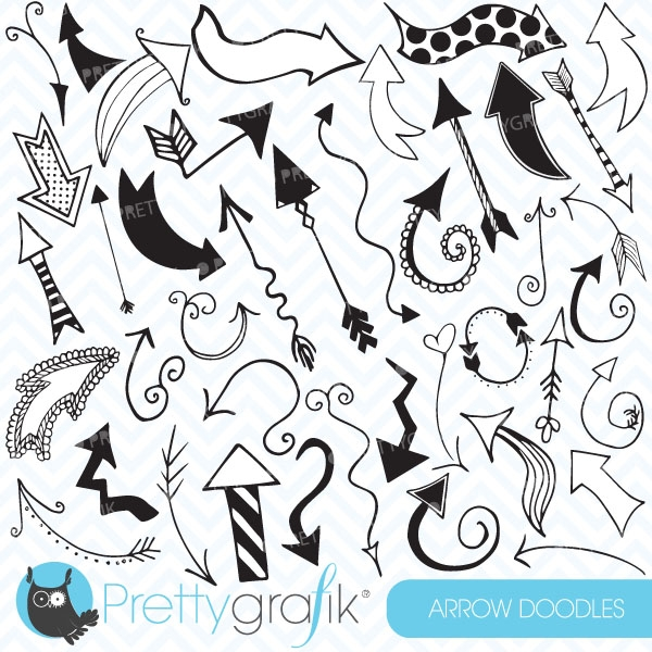 what your doodles really say about you arrows for - 570×604