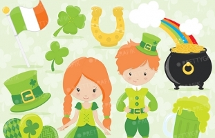 St-patrick's day clipart