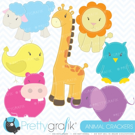 zoo animals clipart (commercial