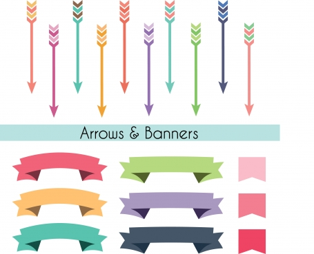 Arrow & Banner Set