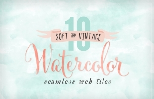Watercolor Seamless Web Backgrounds