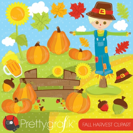 Fall Harvest clipart - CL692