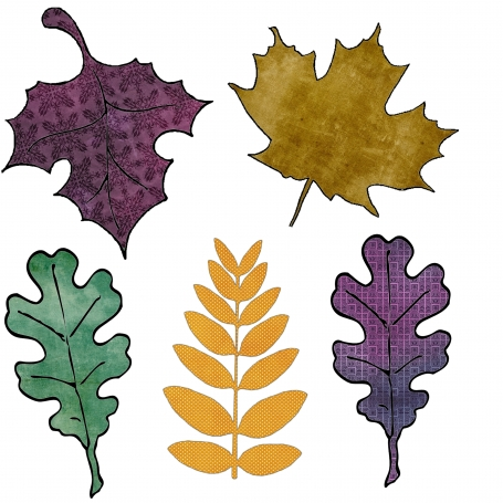 Fall Leaves Autumn Inspired Clipart