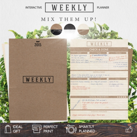 Weekly Planner | Earth