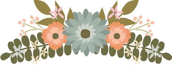 Floral Clipart Flower Clipart Wedding Clipart