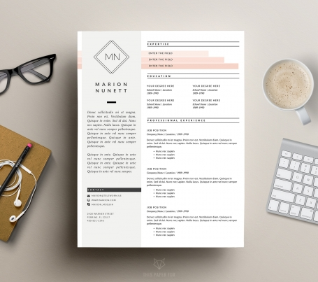 Creative CV Design and Cover