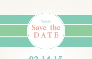 Save The Date - Flat Wedding