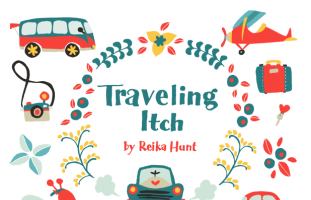 Traveling Itch - Clip Art Set