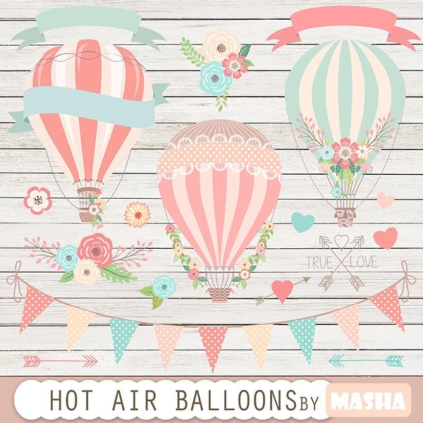 hot air balloon clipart   clip art