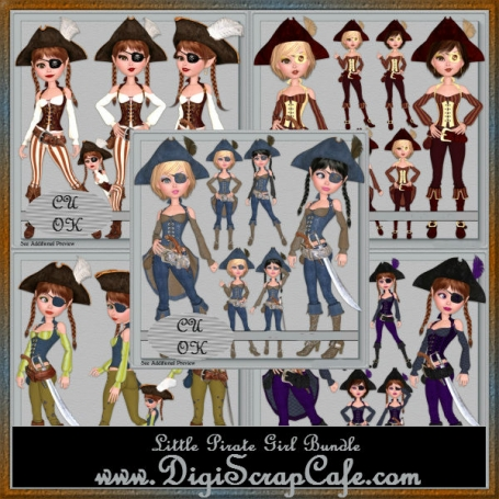 Little Pirate Girls Bundle