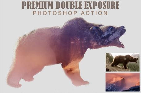 Premium Double Exposure Photoshop
