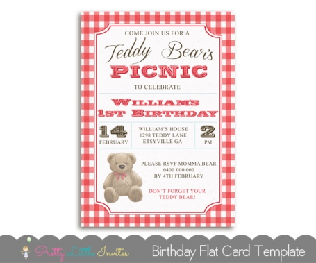 Teddy Bears Picnic Birthday