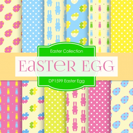 Digital Papers - Easter Egg