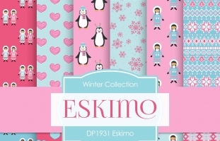 Digital Papers - Eskimo (DP1931)