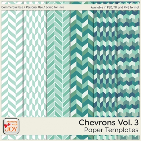 6 Commercial Use Chevron Paper