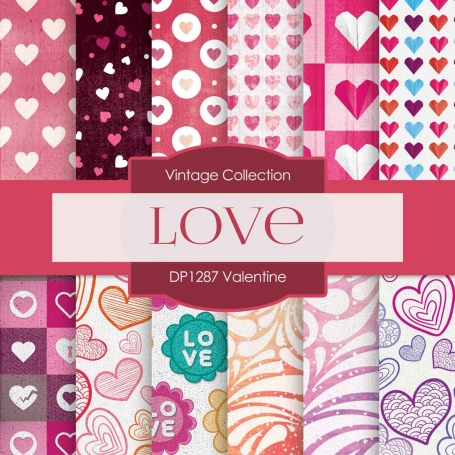 Digital Paper - Valentine (DP1287)