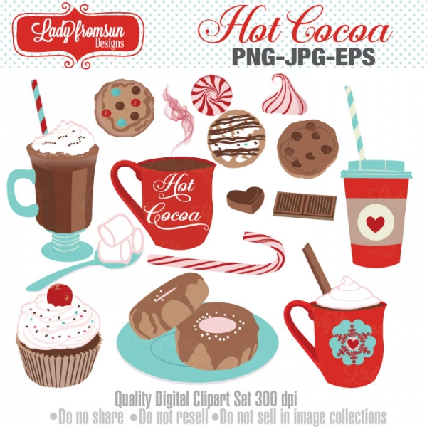 Hot Cocoa Clipart Graphics Other Luvly