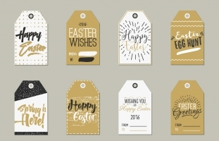 Easter Gift Tags Collection