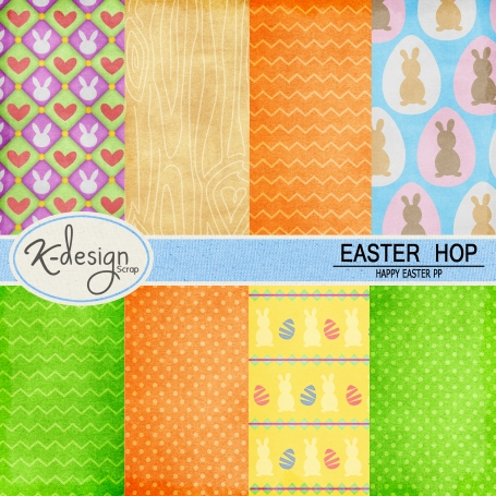 Easter Hop Paper Pack