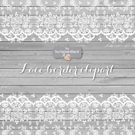 Lace Wedding Invitation Rustic