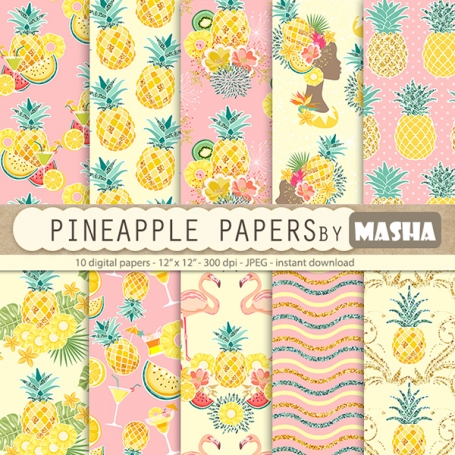 Pineapple Digital Papers