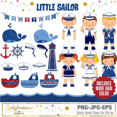 Little Sailor Clipart